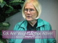 Col. Ret/ Ann Wright on Women's Spaces Show 8/14/2010