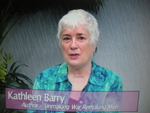 Kathleen Barry on Women's Spaces 8/12/2011