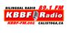 KBBF FM89.1 Calistoga Logo