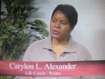 Carylon L. Alexander on Women's Spaces filmed March 2008