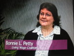 Bonnie L Petty on Women's Spaces Show filmed 1/20/2012