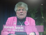 "Elaine B. Holtz  on Women""s Spaces Show filmed 2/3/2012"