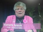 "Elaine B. Holtz  on Women""s Spaces Show filmed 2/3/2012"