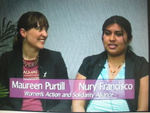 Maureen Purtill and Nury Francisco Graton on Women's Spaces Show filmed 2/24/2012