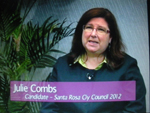Julie Combs on Women's Spaces Show filmed 5/25/2012