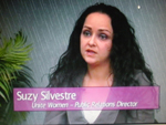 Suzy Silvestre on Women's Spaces Show filmed 5/11/2012