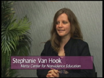 Stephanie Van Hook of Metta Center for NonViolence on Women's Spaces Show filmed 5/11/2012