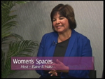 Caroline Banuelos on Women'sSpaces Show filmed 6/1/2012