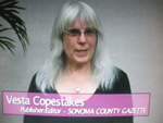 Vesta Copestakes on Women's Spaces Show filmed 5/13/2011