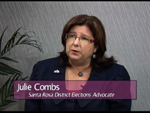 Julie Combs on Women's Spaces Show filmed 7/27/2012