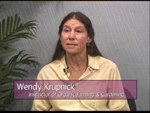 Wendy Krupnick on Women's Spaces Show filmed 10/19/2012