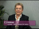 C J Holmes on Women's Spaces Show