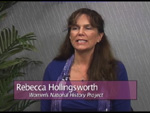 Rebecca Hollingsworth on Women's Spaces Show filmed 10/26/2012