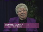 Elaine B. Holtz, host of Women's Spaces Show,filmed 11/17/2012