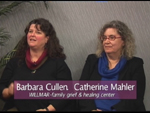 Barbara Cullen a Catherine Mahler on Women's Spaces Show filmed 12/21/2012