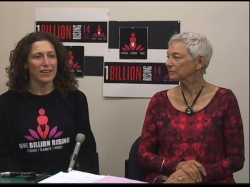 Sonoma County OBR Organizer and DancerJulie Chasen and Women's School Founder Sharon Maser