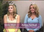 Miss Sonoma County Ashley Kimball and Miss Sonoma County's Outstanding Teen Emily Mott 2013 on Women's Spaces Show