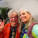 Host Elaine B. Holtz and Connie Baxter Marlow on Women's Spaces Show
