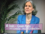 Jill Stein on Women's Spaces TV show 12/09/2011
