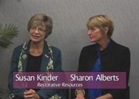 Susan Kinder and  Sharon Alberts, MA